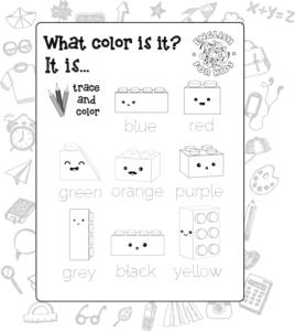 Vocabulario E Imprimible De Los Colores En Inglés English For Kids